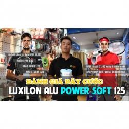 VIDEO   Đánh giá dây tennis Luxilon Alu Power Soft