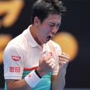 Thắng kịch tính 'Vua giao bóng', Nishikori tiến vào vòng 3 Australian Open