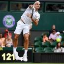 Federer thắng trận thứ 350 ở Grand Slam, Nadal thắng bằng cú đánh trị giá 600 ngàn Bảng