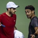 Murray thua Fognini trong trận đấu tranh cãi