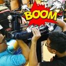 """""""Khui thùng"""" máy đan vợt chuyên phục vụ Grand Slam : Yonex PT8 Deluxe"""