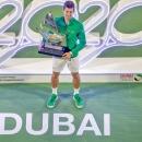 Novak Djokovic lần thứ 5 giành chức vô địch Dubai mở rộng