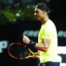 """""""Vua đất nện"""" Nadal gặp khó tại Pháp Mở rộng"""