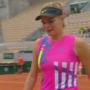 Tay vợt Ukraine khóc ngon lành vì lý do hy hữu