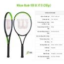 Đánh giá Vợt Tennis Wilson Blade 100UL v7