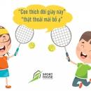 3 điều cần biết khi lựa chọn giày tennis cho trẻ em.