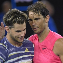 Thiem kiếm tiền thưởng nhiều gấp rưỡi Nadal