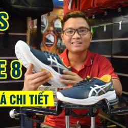 Đánh giá Giày Tennis Asics Gel Game 8 Blue/Silver (1041A192-400)