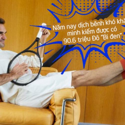 Federer kiếm nhiều tiền nhất năm 2021