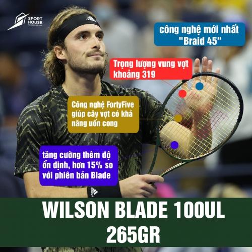 Giới thiệu Vợt Tennis Wilson Blade 100UL (265gr)