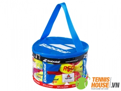 Bóng Tennis trẻ em Babolat Felt Đỏ (Túi 24 Quả)