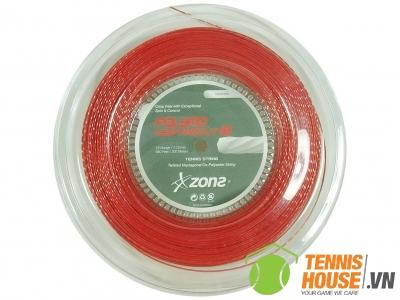 Dây tennis Zons Polymo HeptaBolt 18 Đỏ (Sợi)