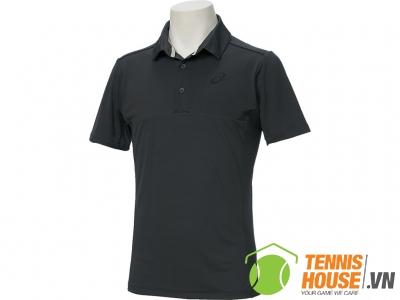 Áo Tennis Asics Club SS Polo Đen (142624-0779)