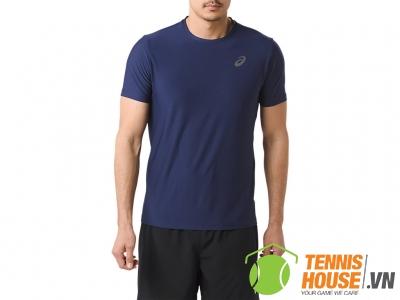 Áo Tennis Asics SS Indigo Blue (142597.8052)