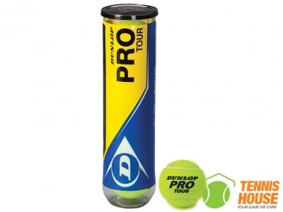 Bóng Tennis Dunlop Protour (4 Quả/Hộp)