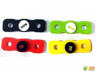 Giảm rung vợt tennis Taan dạng khuy (Đen, Xanh, Đỏ, Vàng)