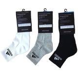 Tất Adidas (Trắng, ghi, đen) - 1 Đôi