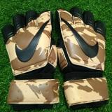 Găng tay thủ môn logo Nike màu quân đội