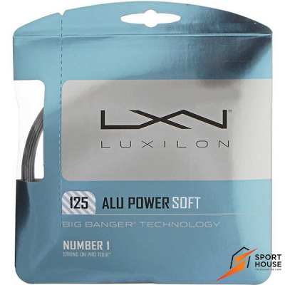 Dây tennis Luxilon Alu Power Soft 125 (Vỷ 12m)
