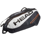 Túi Tennis Head Tour Team 6R Black White (283457BW)