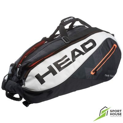 Túi Tennis Head Tour Team 9R Black White (283447BW)