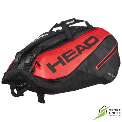 Túi Tennis Head Tour Team 9R Black Red (283447)