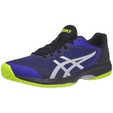 Giày tennis Asics Gel Court Speed Blk/Bl/Ye (E800N-410)
