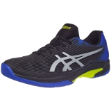 Giày tennis Asics Solution Speed FF Blk/Bl/Ye (1041A003-011)