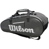 Túi tennis Wilson Super Tour 2 Đen x9 (WRZ843909)