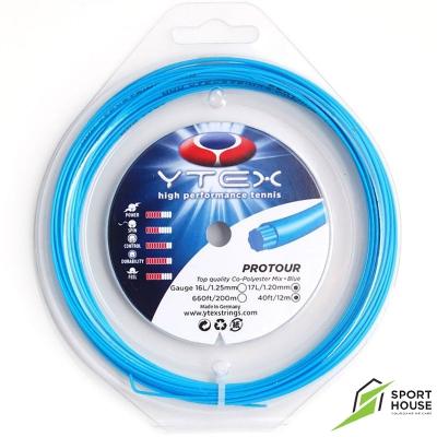 Dây tennis Ytex Poly Tour 17 1.23 (Vỷ 12m)