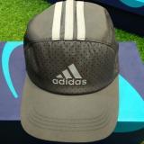 Mũ tennis Adidas Ghi Sọc Trắng