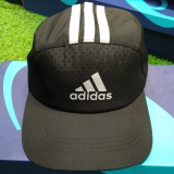 Mũ tennis Adidas Đen Sọc Trắng
