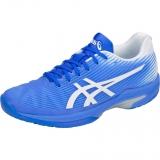 Giày tennis Asics nữ Speed FF Wh/Bl (1042A002-411)