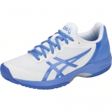 Giày tennis Asics nữ Gel Court Speed Wh/Bl (E850N-109)