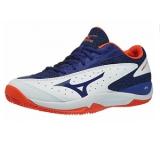 Giày Tennis Mizuno Wave Flash AC Trắng Xanh