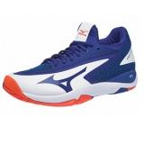 Giày Tennis Mizuno Wave Impulse AC Xanh Trắng