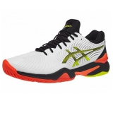 Giày Tennis Asics Court FF 2 White/Black/Orange (1041A083.100)