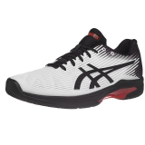 Giày Tennis Asics Solution Speed FF White/Black/Orange (1041A003.102)