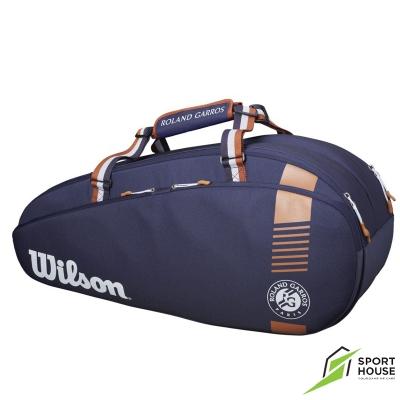 Túi Tennis Wilson Roland Garros Team 6 Pack