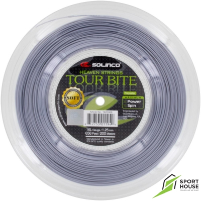 Dây tennis Solinco Tour Bite Soft 1.20 / 1.25 (Sợi)