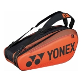 Túi Tennis Yonex Pro Racket Orange, Black X6