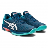 Giày Tennis Asics Solution Speed FF Mako Blue and White (1041A003-407)