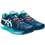 Giày Tennis Asics Gel Resolution 8 Mako Blue (1041A079-401)