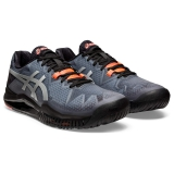 Giày Tennis Asics Gel Resolution 8 Black/Sunrise Red (1041A146-010)
