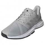 Giày Tennis Adidas COURTJAM BOUNCE Xám Bạc Đen (H68894)