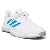 Giày Tennis Adidas GAMECOURT Trắng Xanh (GZ8514)